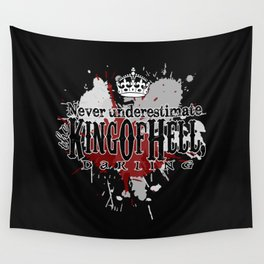 King of Hell Wall Tapestry