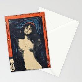Edvard Munch - Madonna - Digital Remastered Edition Stationery Cards