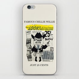 just 25 cents iPhone Skin