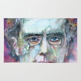 GUSTAV MAHLER - watercolor portrait.4 Rug