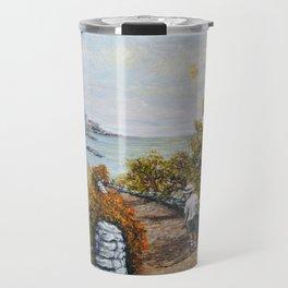 Gower Gold Travel Mug