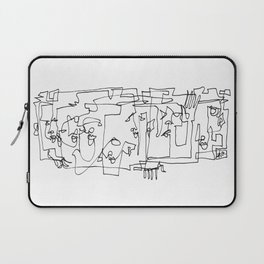 Whispering And Listening Laptop Sleeve