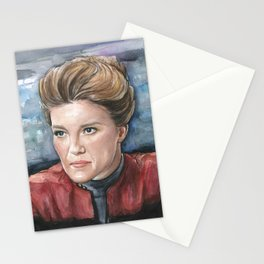 Captain Kathryn Janeway Stationery Cards
