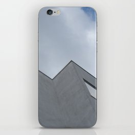 Trapped in the clouds iPhone Skin