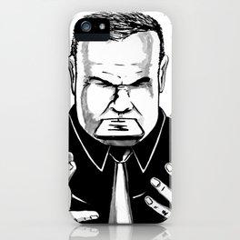 Make us speechless iPhone Case