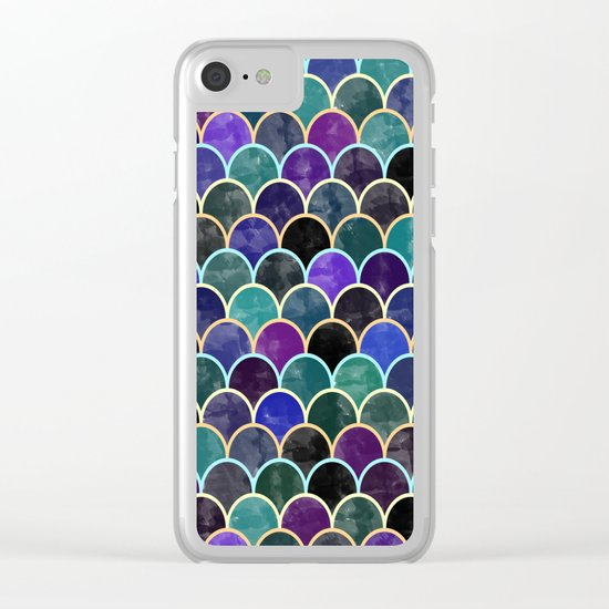 Watercolor Lovely Pattern VVI Clear iPhone Case