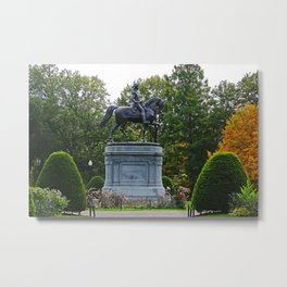 Washington Statue Metal Print