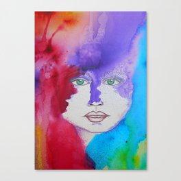Bella SASS Girlz - Zena - SASS = STRONG and SUPER SMART Canvas Print