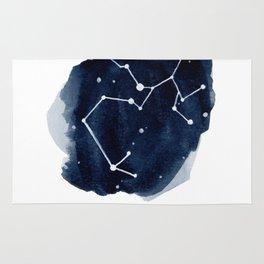 Zodiac Star Constellation - Sagittarius Rug