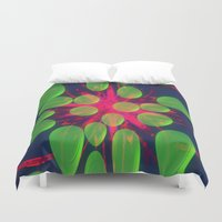 new year Duvet Covers featuring New Year New Dreams by lillianhibiscus