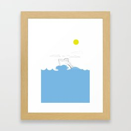 Cruise Framed Art Print