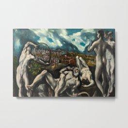 El Greco, Laocoon, 1610 Metal Print