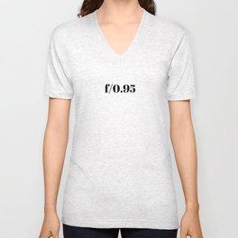 F/0.95 Unisex V-Neck