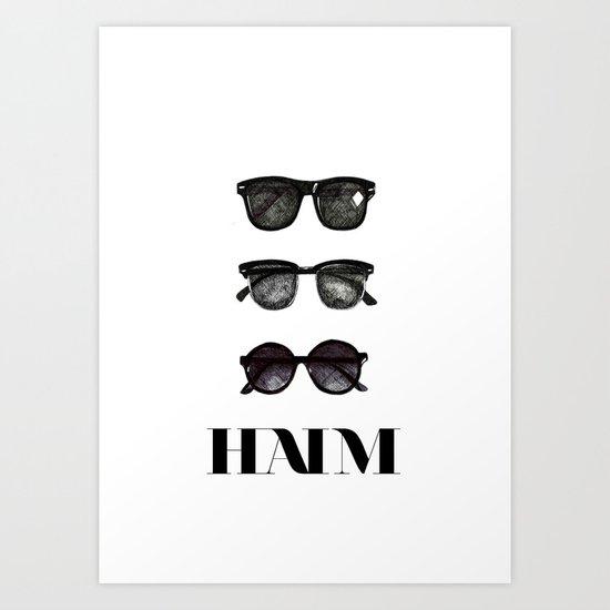 Haim Art Print