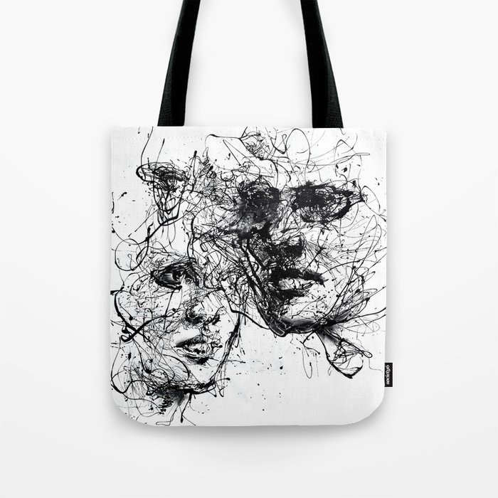 our lines, our story, it isn't a linear path Tote Bag