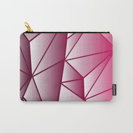 Geometrical Midnight Carry-All Pouch