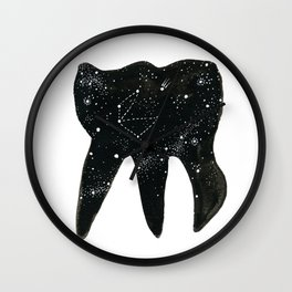 Cosmic Tooth Wall Clock