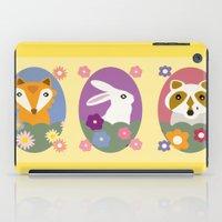 woodland iPad Cases featuring Woodland by LeaLea Rose
