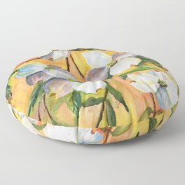 Can You Feel Spring ? Floor Pillow