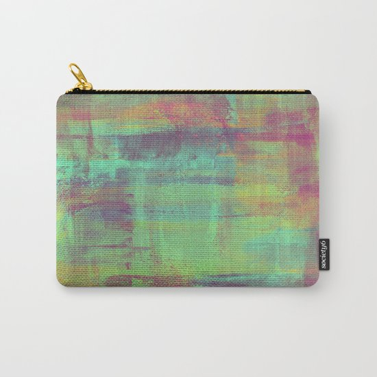 Humility - Mixed Colour Abstract Carry-All Pouch