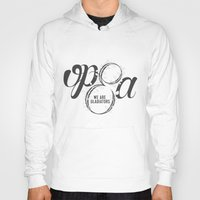 scandal Hoodies featuring Scandal - Olivia Pope & Associates by leftyprints