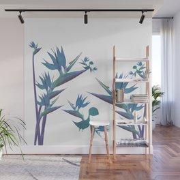 Floral Dragon Paradise 2 Wall Mural