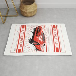 GT 40 red Rug