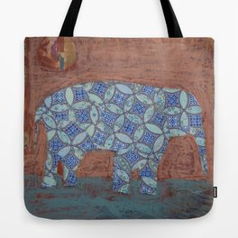 Elephant Dreams Tote Bag