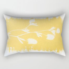 Herbal Sunprint #6 Rectangular Pillow