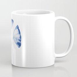 indigo poppy watercolor Coffee Mug