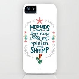 Let Mermaids Merm iPhone Case