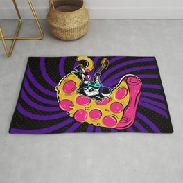 Space Pizza Rug