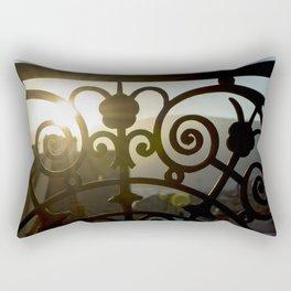 Balcony Sunset Rectangular Pillow