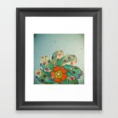 The Silver Flower Framed Art Print