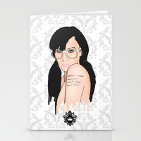 glasses Stationery Cards featuring Glasses by Jasocorp