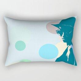 Clipart girl Rectangular Pillow