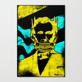 Transident Lincoln Canvas Print
