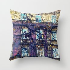 Cracow architecture Throw Pillow