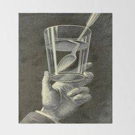 The phenomena of physics - Amédée Guillemin - 1868 Black & White Throw Blanket