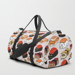 Sushi Persian Cat Duffle Bag