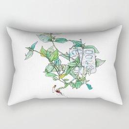 Plantae Alley 3 Rectangular Pillow