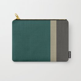 Bold Forest And Grey Carry-All Pouch
