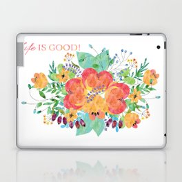 watercolour-life is good! Laptop & iPad Skin