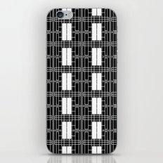 Black and White Brick iPhone & iPod Skin
