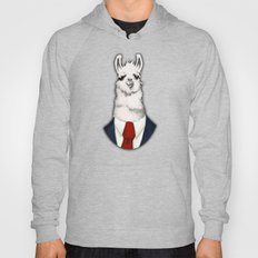 Formal Llama - Red Hoody