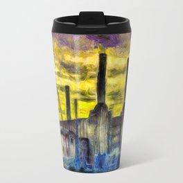 Battersea Power Station Van Gogh Travel Mug