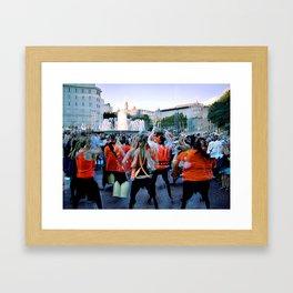 Local Bin Borne Analogies Framed Art Print