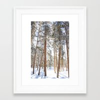 narnia Framed Art Prints featuring Narnia by Alyson Cornman Photography