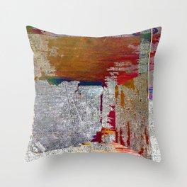 Abstract Fashion Gift Tee Shirt Art Lover Throw Pillow