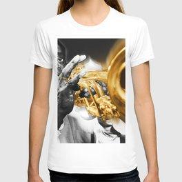 Louis Armstrong Trumpet Music Musician Jazz T-shirt